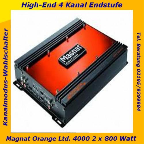 magnat orange ltd 4000 4 kanal endstufe b ware ebay. Black Bedroom Furniture Sets. Home Design Ideas